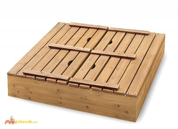 Фото 3. Детская песочница деревянная pes-3