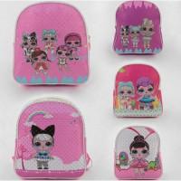 Детский рюкзак с куклами Лол