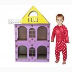 Разборной домик для кукол-кукольный домик. Лучший подарок для девочки