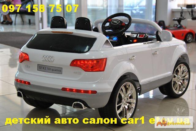 Фото 2. Джип-электромобиль Ауди Q7