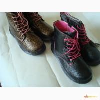 Ботинки для девочки демисезонные