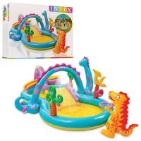 Надувной игровой центр «Планета динозавров» Интекс 57135