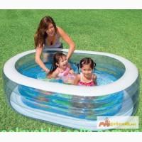 Детский надувной бассейн Intex 57482 Овальный