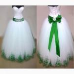 Свадебные платья под заказ, платья с стильной вышивкой