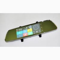 702 Зеркало регистратор, 7 сенсор, 2 камеры, GPS навигатор, WiFi, 8Gb, Android, 3G