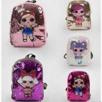 Детский рюкзак для принцессы с куклами Лол